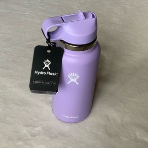 HYDRO FLASK 32-Ounce Wide Mouth Straw Lid Bottle